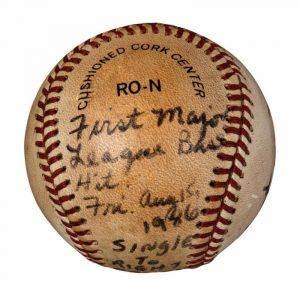 First Major League Hit Baseball Barry Larkin