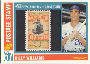 Billy Williams stamp card 2016 Topps Heritage
