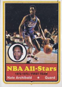 1973-74 Topps basketball Nate Archibald card