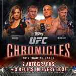 Topps 2015 UFC Chronicles