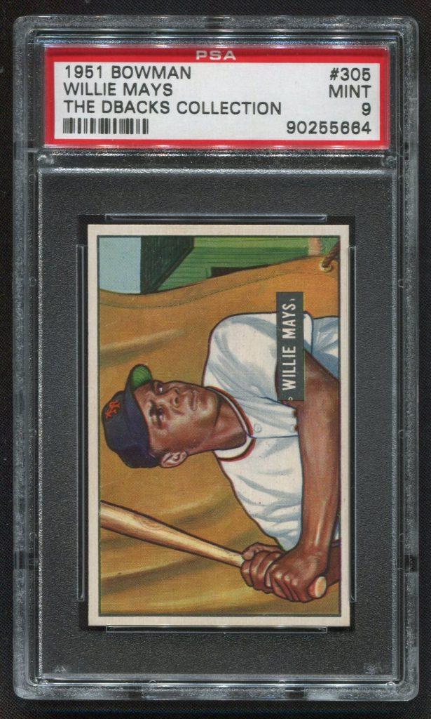 Willie Mays 1951 Bowman PSA 9