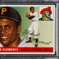 Roberto Clemente rookie card 1955 Topps