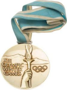 1980 Olympic gold medal Dave Christian