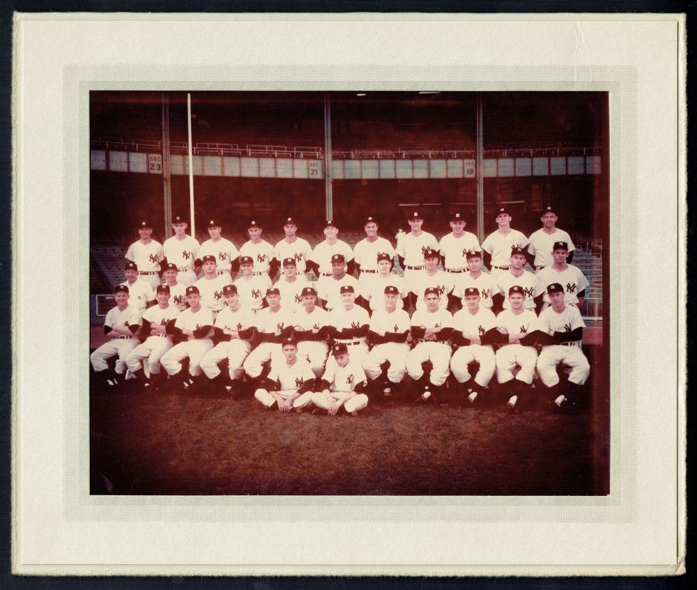 New York Yankees 1956 photo
