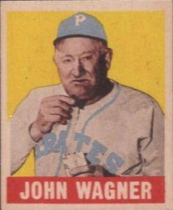 Honus Wagner 1949 Leaf card