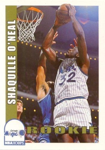 Shaq rookie card 1992-93 Hoops