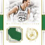 2016 National Treasures Basketball Larry Bird relic