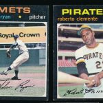 1971 Topps Ryan and Clemente
