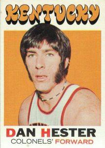 1971-72 Topps Dan Hester