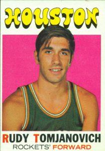 Rudy Tomjanovich rookie card