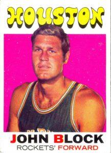 John Block 1971-72 Topps