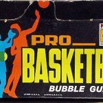 Topps basketball box 1971-72