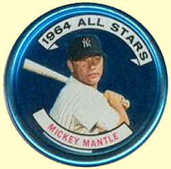 1964 Topps Coin Mickey Mantle