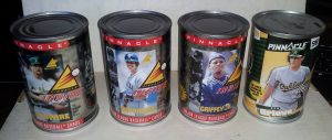 Remember the 1997 Pinnacle cards in a can?