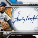 Sandy Koufax 2016 Topps Strata autograph