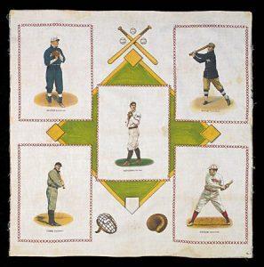 1912 S110 Baseball Player Silk Pillow Case