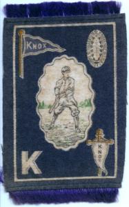 1914 Murad mini blanket Knox College