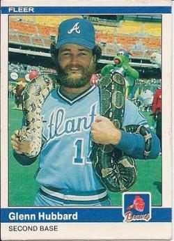 1984-Fleer Glenn Hubbard