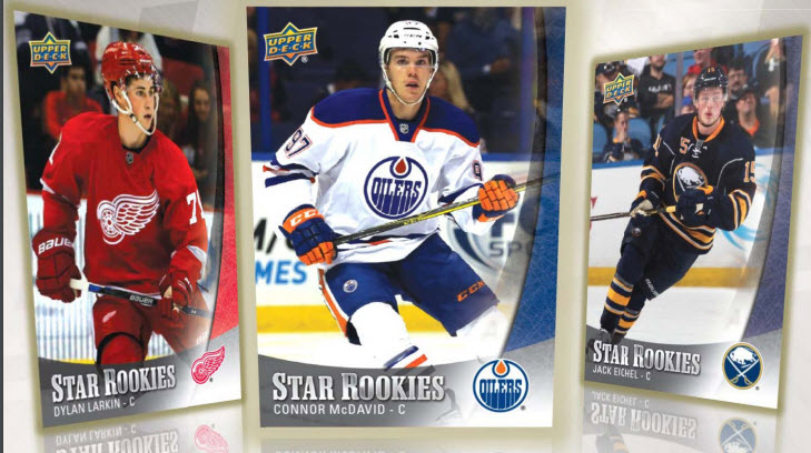 Upper Deck Star rookies 2015-16 hockey