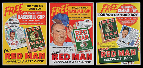 Red Man Tobacco posters