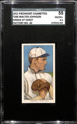 t206-Walter-Johnson-Hands-At-Chest-SGC-4.5-Factory-42
