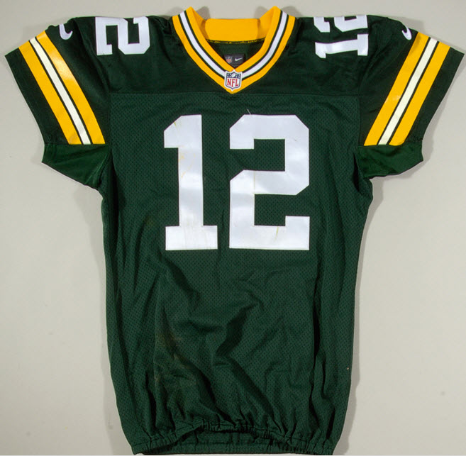 Aaron Rodgers game jersey 2015