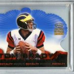 Tom Brady rookie 2000 Pacific Crown Royale rookie