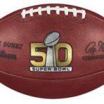 Wilson Super Bowl 50 football