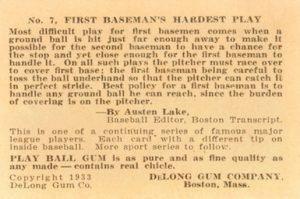 1933-DeLong-Baseball-Lou-Gehrig-back