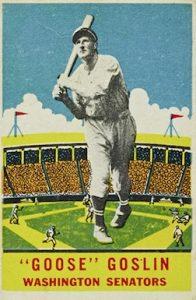 1933-DeLong-Baseball-Goose-Goslin