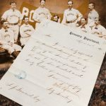 Andy Leonard contract 1871 Washington Olympics