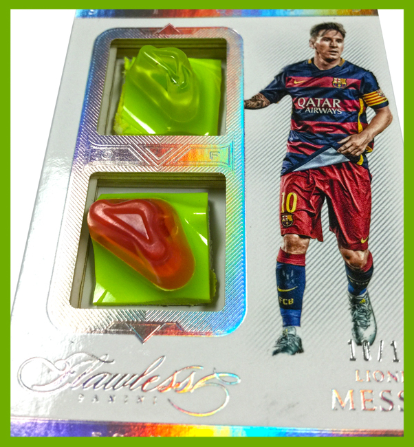 Lionel Messi cleat card