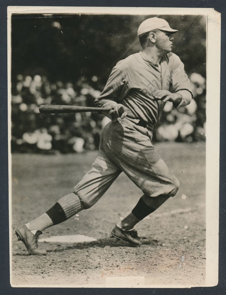 Babe Ruth 1918 photo Red Sox