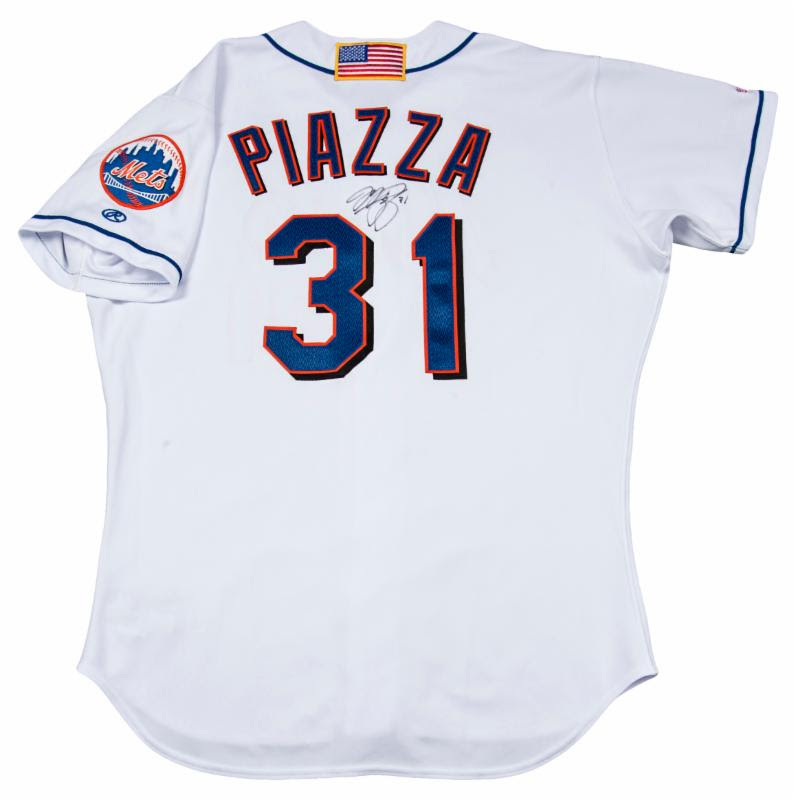 September 11 2001 Mike Piazza jersey