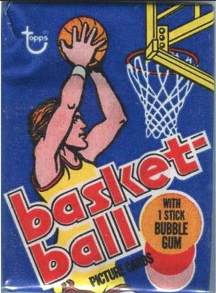 Topps 1977-78 basketball pack