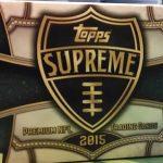 Topps Supreme Football 2015