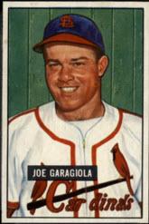1951 Bowman Joe Garagiola