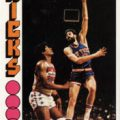 Phil Jackson 1976-77 Topps basketball card
