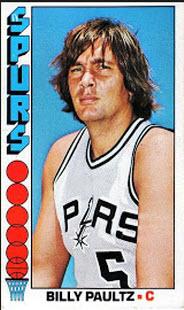 Billy Paultz 1976-77 Topps
