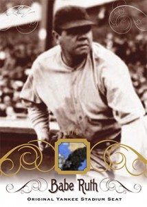 2016 Leaf Babe Ruth Collection relic