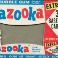 Bazooka bubble gum box front
