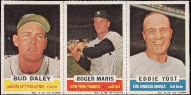 Roger Maris 1961 Bazooka panel