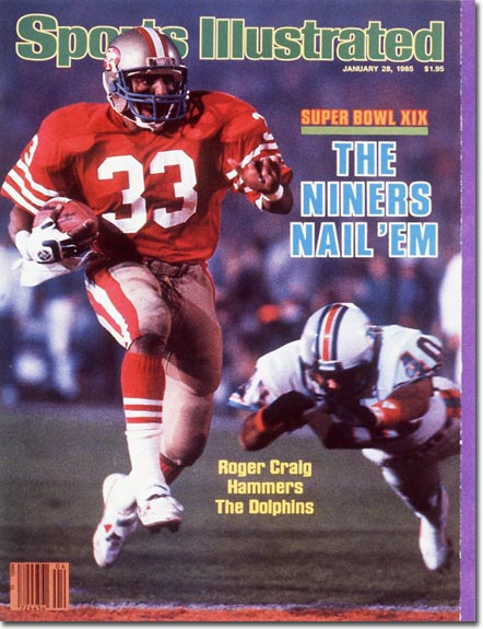 1985 Sports Illustrated Roger Craig 49ers