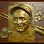 Lou Gehrig Hall of Fame bust second casting