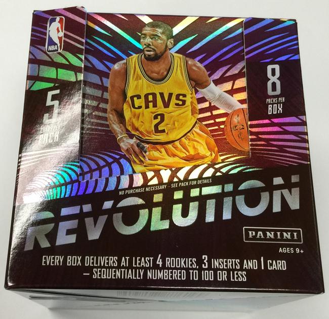 Panini Revolution Basketball 2015-16 box