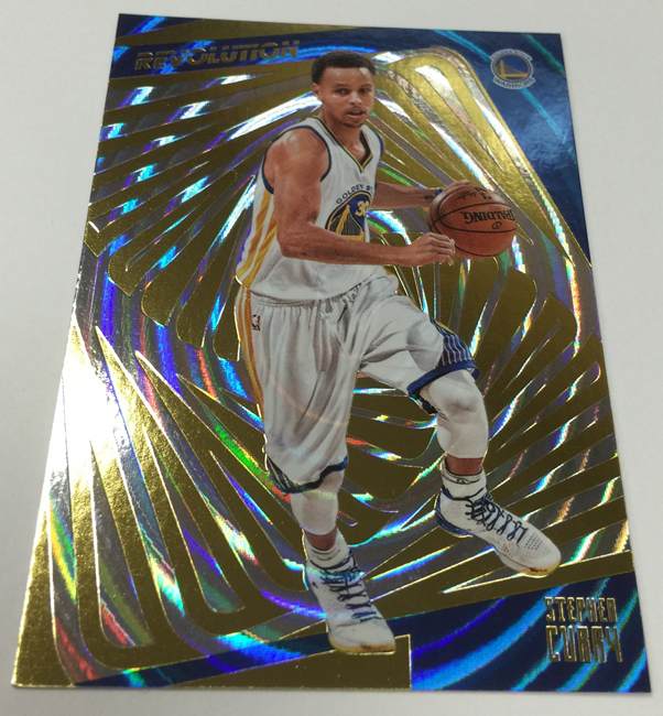 Steph Curry 2015-16 Panini Revolution Nova basketball