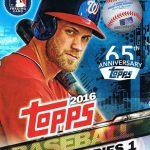Topps 2016 Baseball Box Bryce Harper