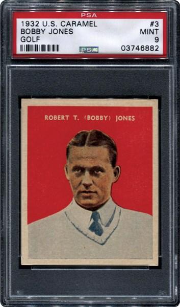 Bobby Jones 1932 US Caramel PSA 9
