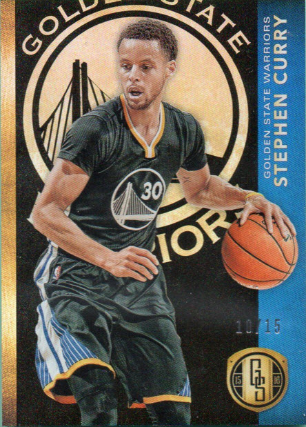 Steph Curry 2015-16 Panini Gold Standard