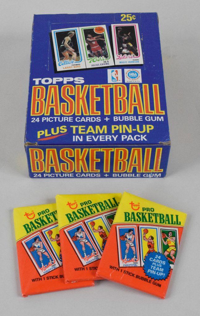 Topps basketball 1980-81 box packs